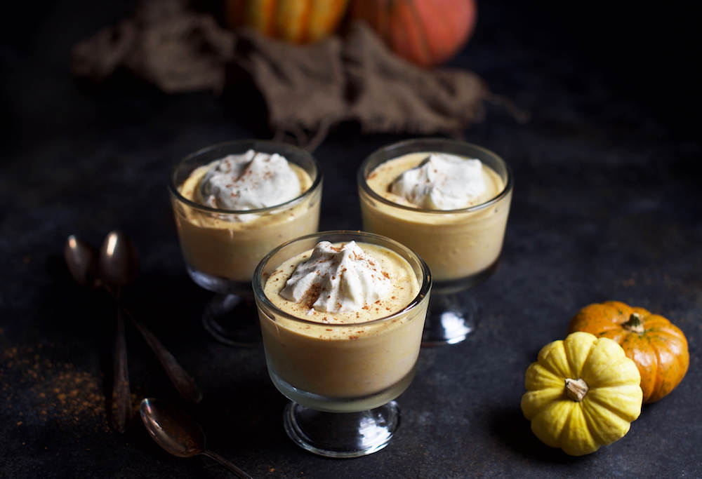 Keto Pumpkin Spice Pudding