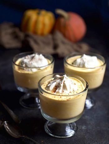 Keto Pumpking Spice Pudding