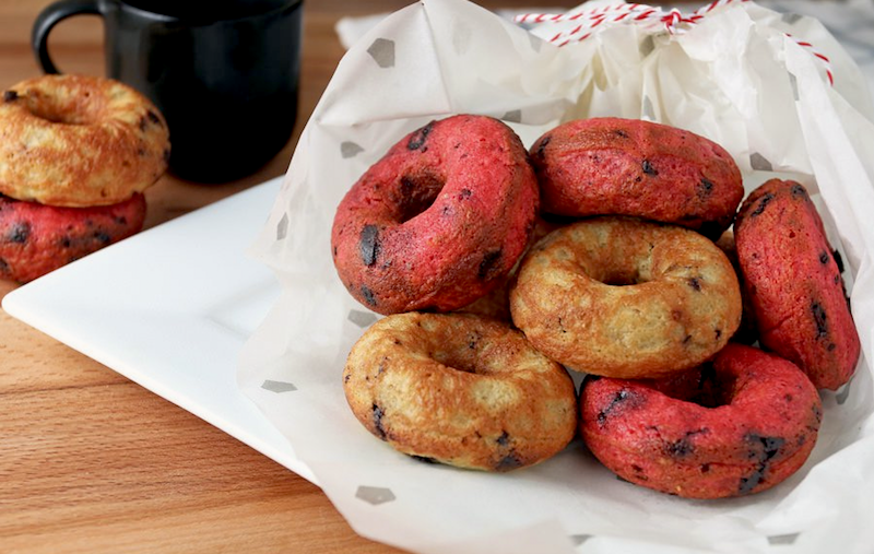Chocolate Chunk Cherry Donuts