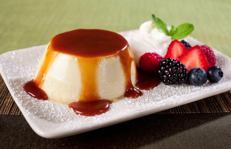 Low Carb Carmel Coconut Flan