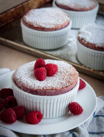 Low Carb Raspberry Souffle