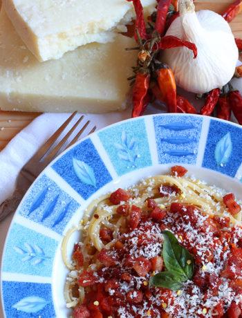 Low Carb Noodles – Amatriciana Pasta