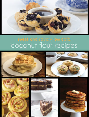 Low Carb Coconut Flour Recipes
