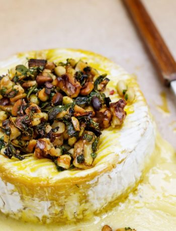 Oven-Baked Brie Cheese