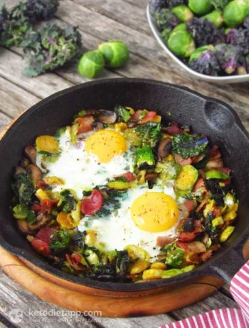 Brussel Sprouts & Bacon Hash