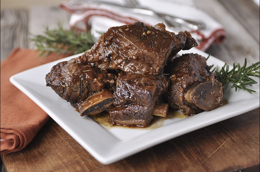 Brown Sugar Beef Short Ribs