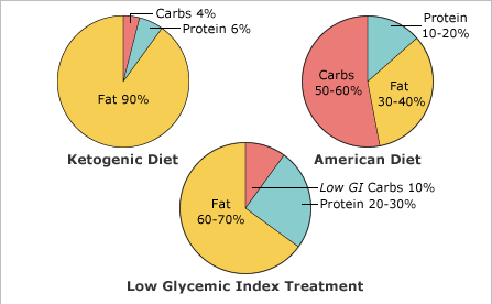 Keto Diet Comparison with Standard American Diet