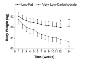 low-fat vs low-carb diets