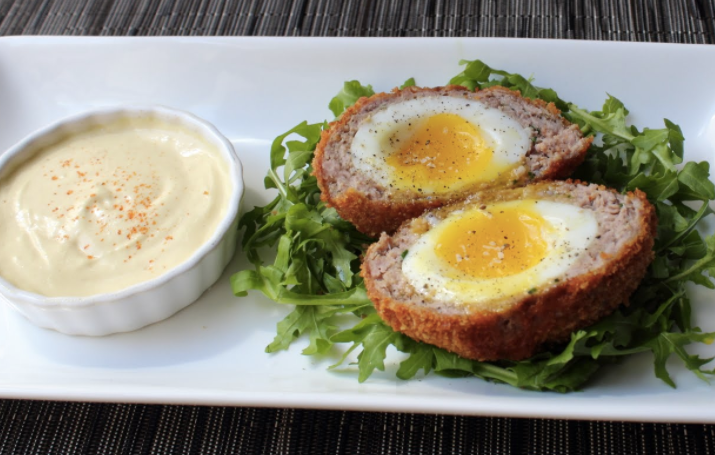 Low Carb Scotch Egg Appetizers