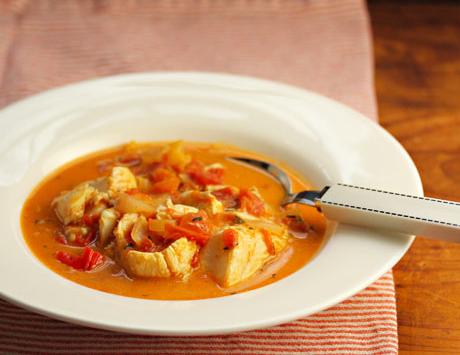 Keto Boston Fish Stew