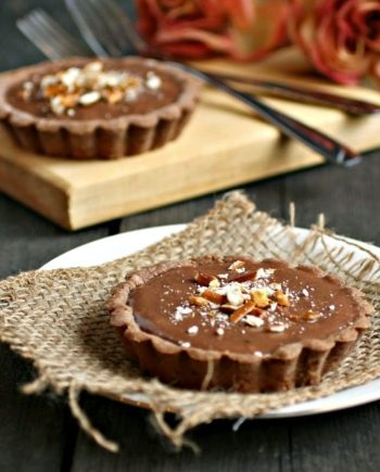 Keto Chocolate Peanut Butter Tarts