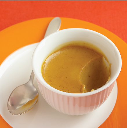 Keto Pumpkin Custard