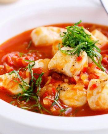 Keto Seafood Chili