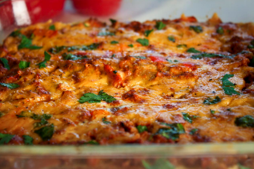 Low Carb Chorizo Breakfast Casserole