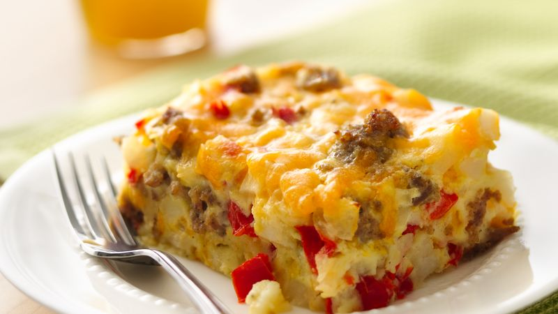 Low Carb Country Breakfast Casserole