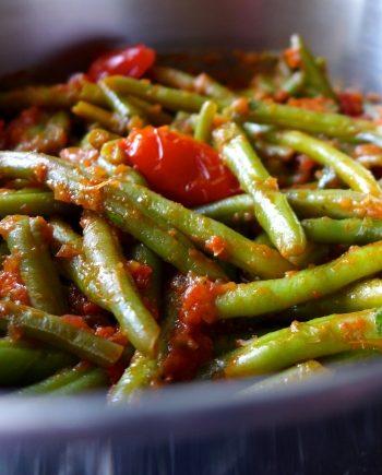 Low Carb Greek Green Beans