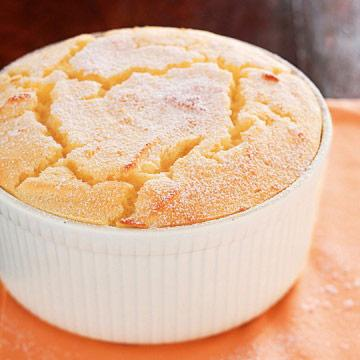 Low Carb Lemon Poppy Souffle
