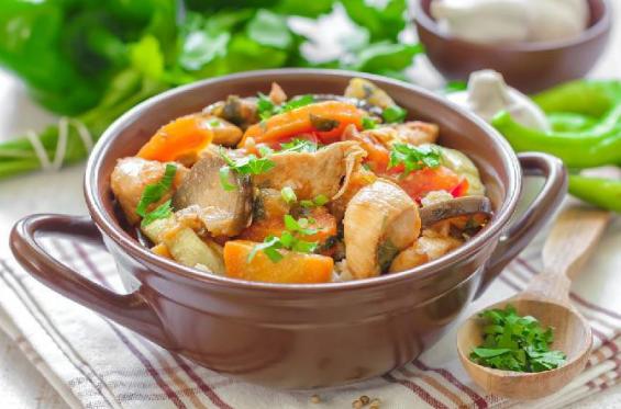 Low Carb Sweet Potato Chicken Stew