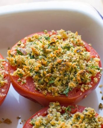 Low Carb Tomatoes Provencal