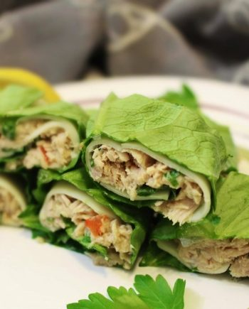 Low Carb Tuna Salad Roll Ups