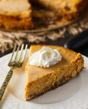 Keto Pumpkin Cheese Cake