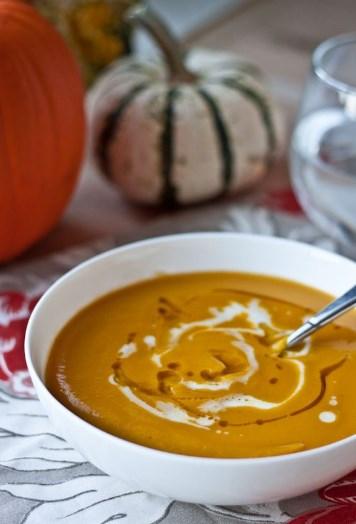 Keto Sweet Potato Soup
