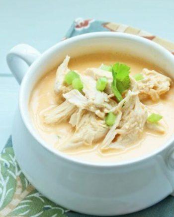 Instant Pot Keto Buffalo Chicken Soup