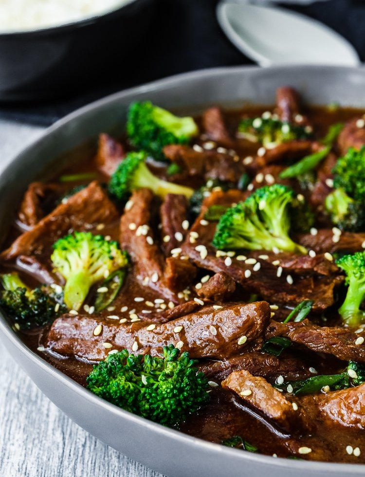 Instant Pot Low Carb Beef With Broccoli