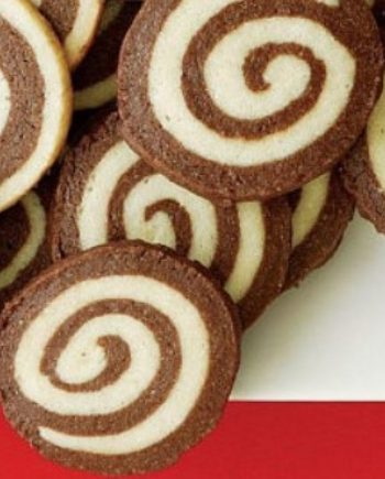 Keto Chocolate Pinwheel Cookies