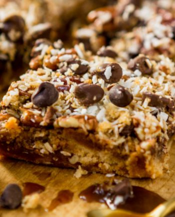 Keto Magic Cookie Bars
