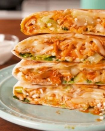 Cheesy Keto Chicken Quesadillas