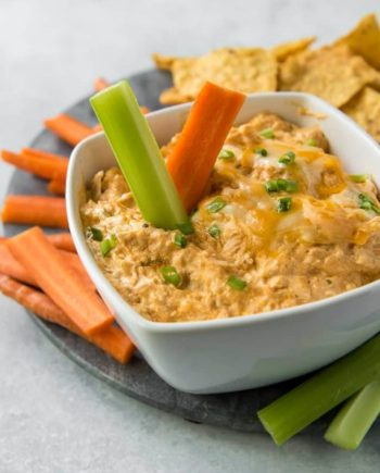 Keto Buffalo Chicken Dip