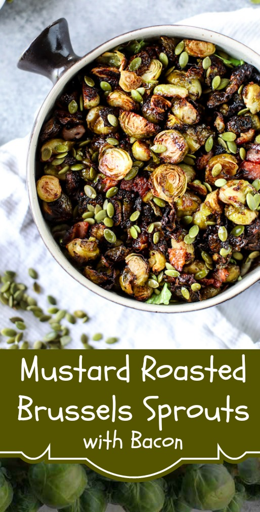 Mustard Roasted Brussels Sprouts