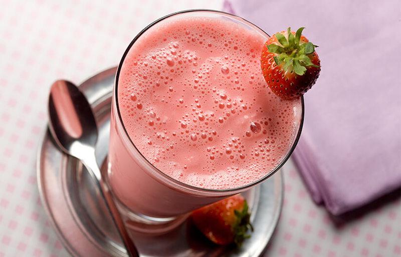 Low Carb Strawberry Shake
