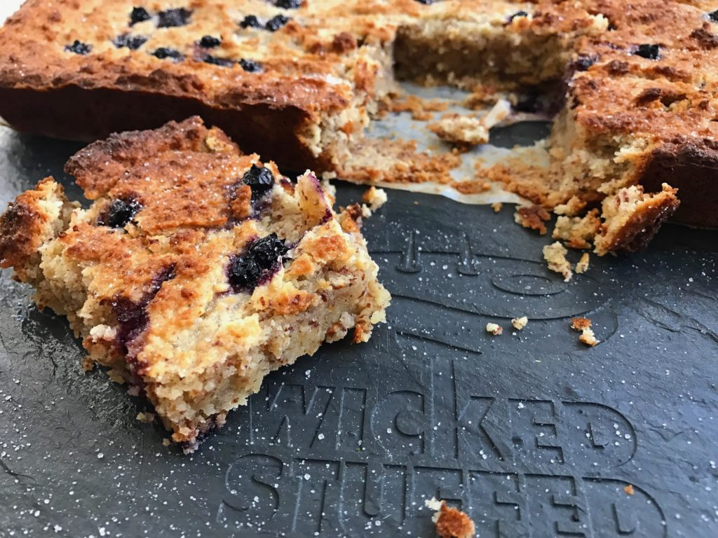 Chewy Blueberry Muffin Blondies