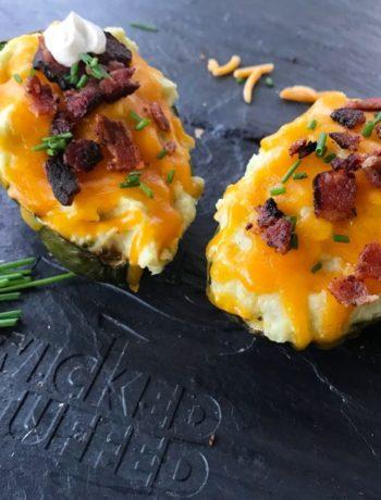 Loaded Twice Baked Potato