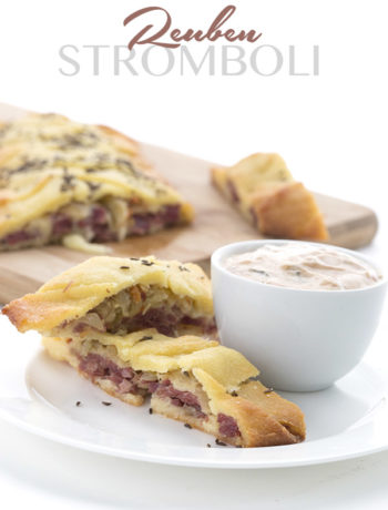 Low Carb Reuben Stromboli