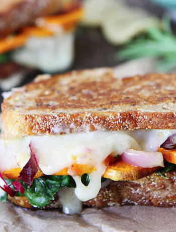 Sweet Potato Kale Melt