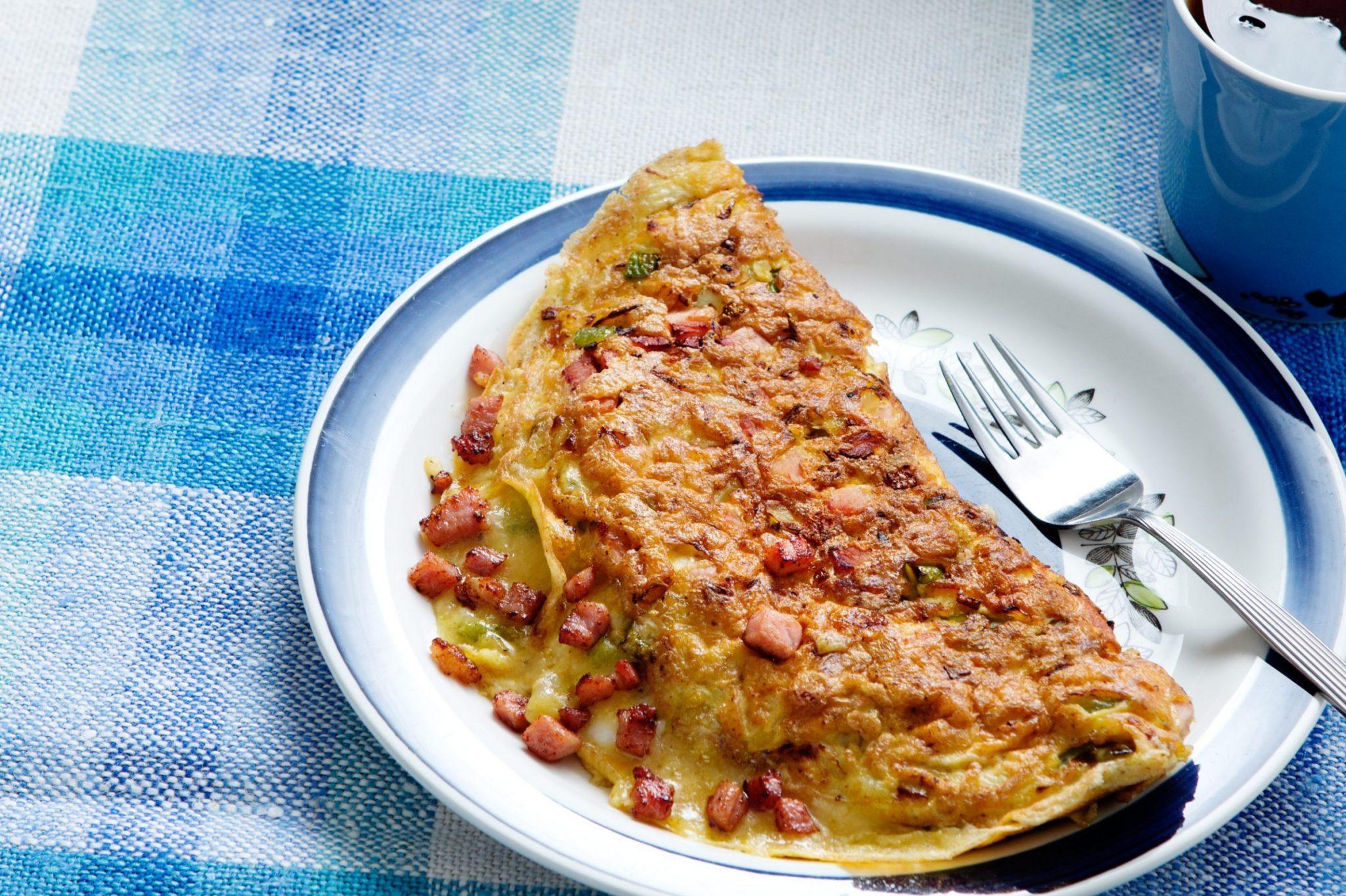 Keto Western Omelet Recipe