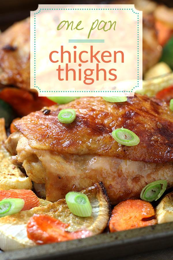 One Pan Chicken & Veggies