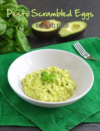 Pesto Scrambled Eggs