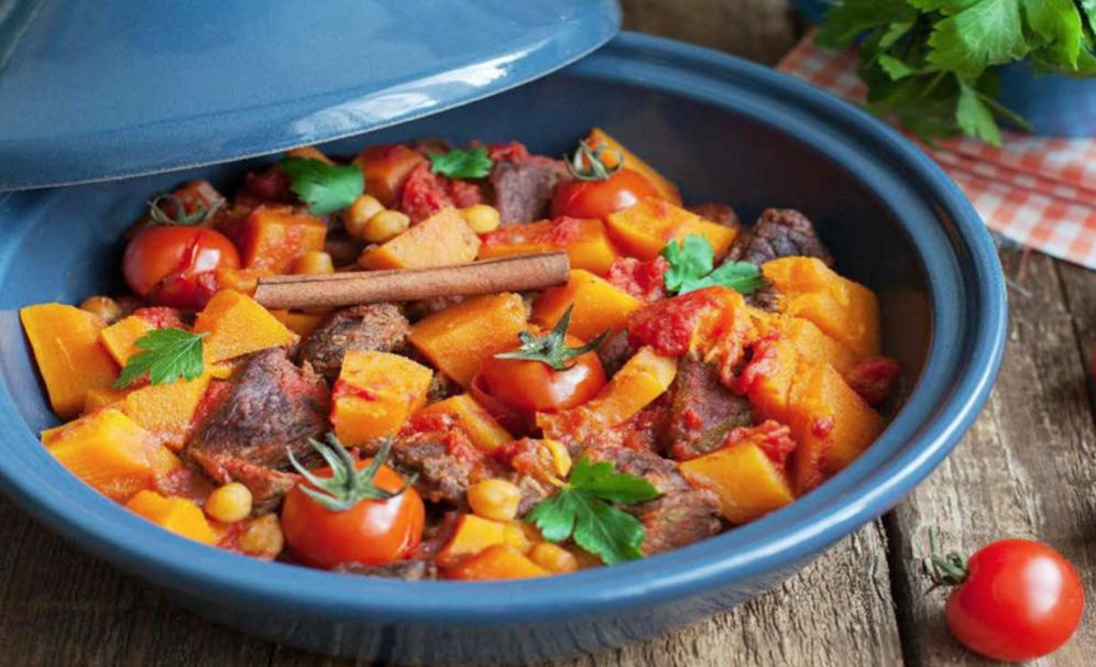Beef & Butternut Crockpot Stew