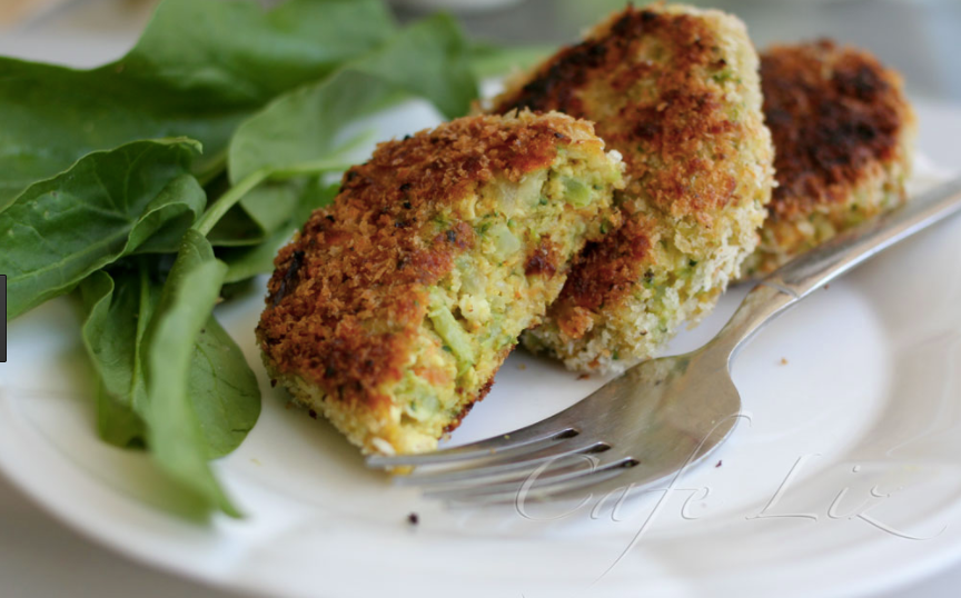 Broccoli & Cheese Fritters