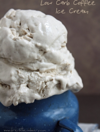 Low Carb Coffee Ice Cream
