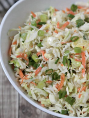 Low Carb Summer Slaw