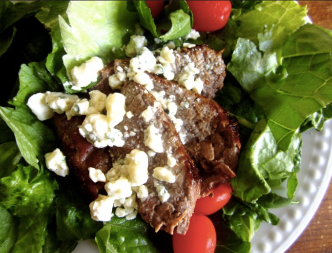 Blue Cheese Stake Salad
