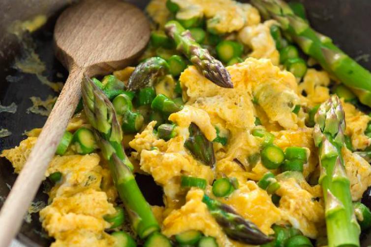 Roasted Asparagus & Eggs