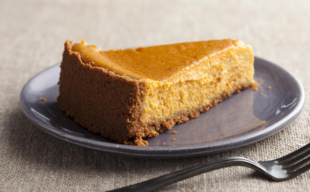 Low Carb Pumpkin Pie w/ Hazelnut Crust