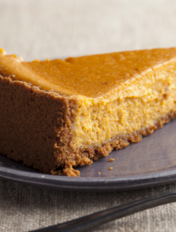 Low Carb Pumpkin Pie w/ Hazelnut Crust