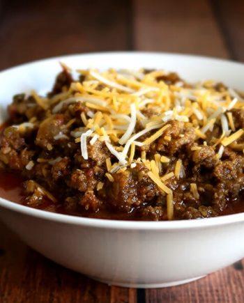 Beanless Keto Chili